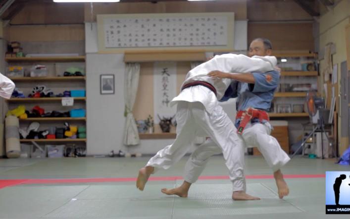 Sutemi avec Washizu sensei