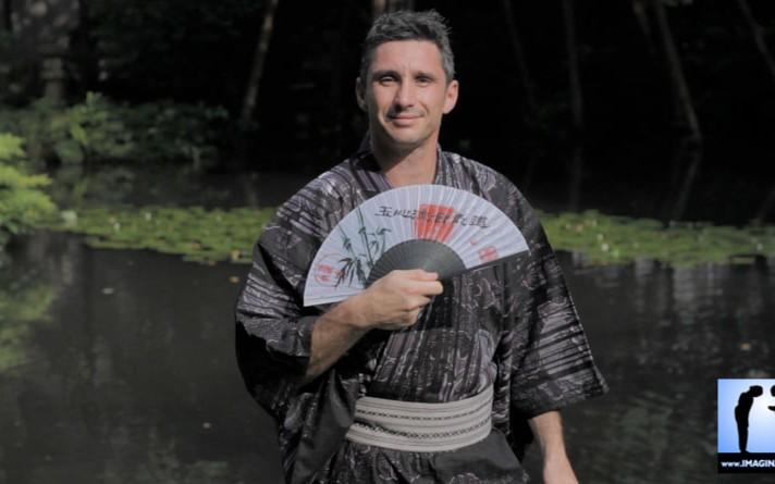 Lionel Froidure en kimono