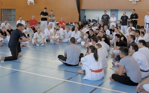 Moment de partage avec master Dani Faynot en Arnis Kali Eskrima