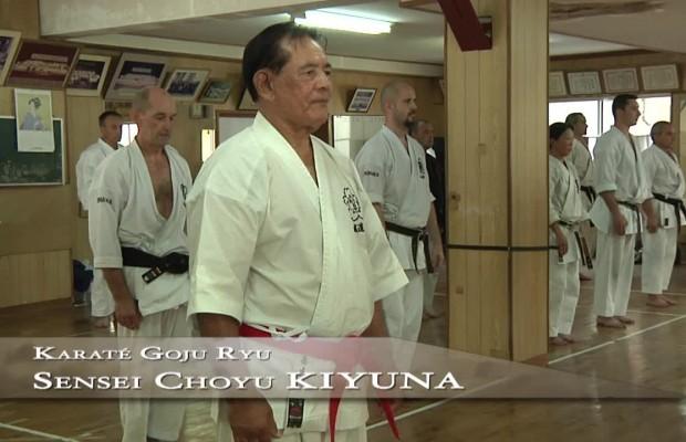 Choyo Kiyuna sensei - Karate Goju Ryu Okinawa