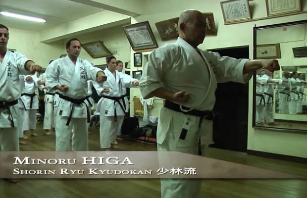 Minoru Higa karaté Okinawa