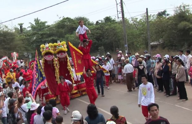 festival traditionnel au vietnam