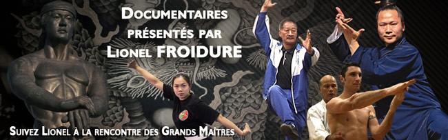 documentaires arts martiaux avec Lionel Froidure