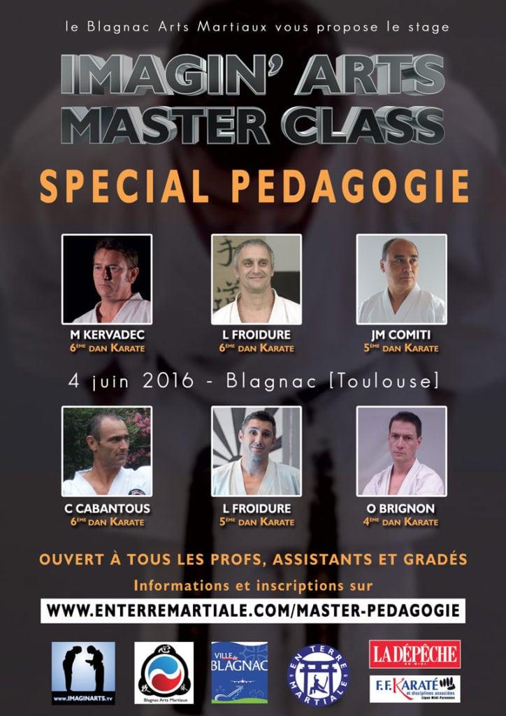masterclass pédagogie karate 2016