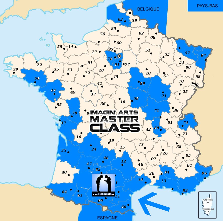 carte des participants