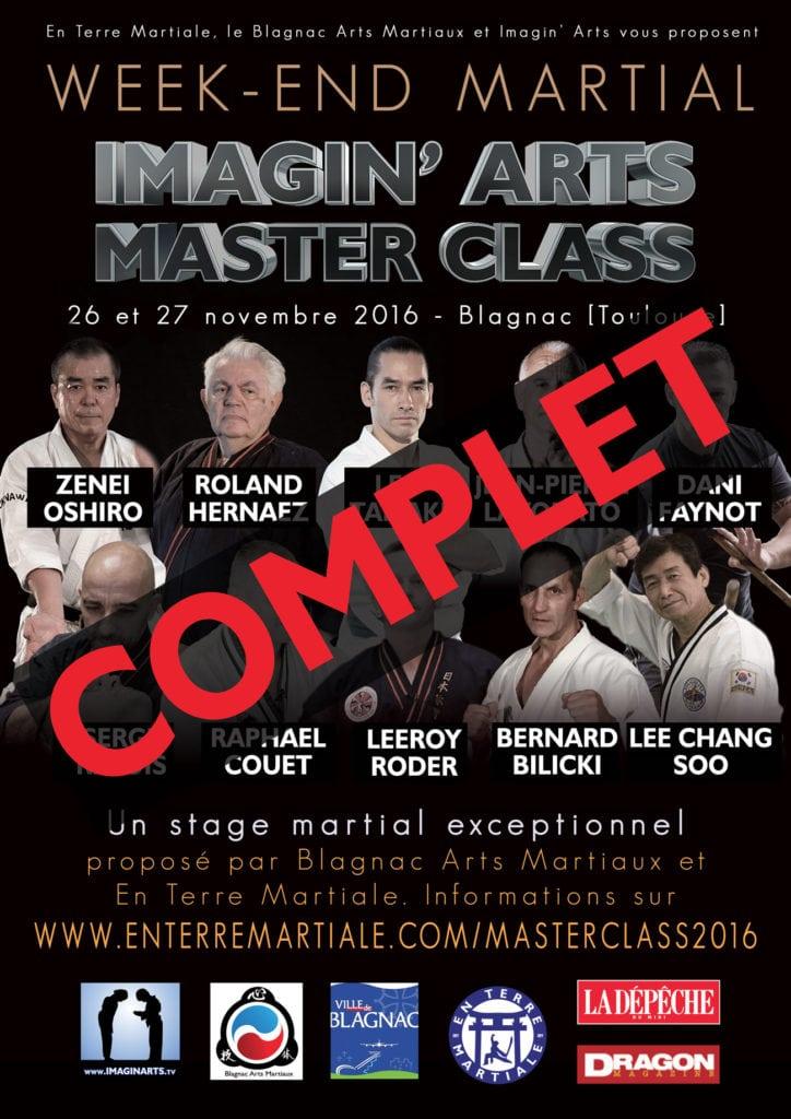 imagin arts masterclass 2016 complet