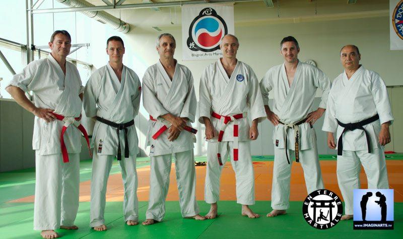 equipe masterclass pédagogie karate