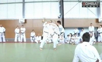 kombat sport karate jean-ftançois Tisseyre