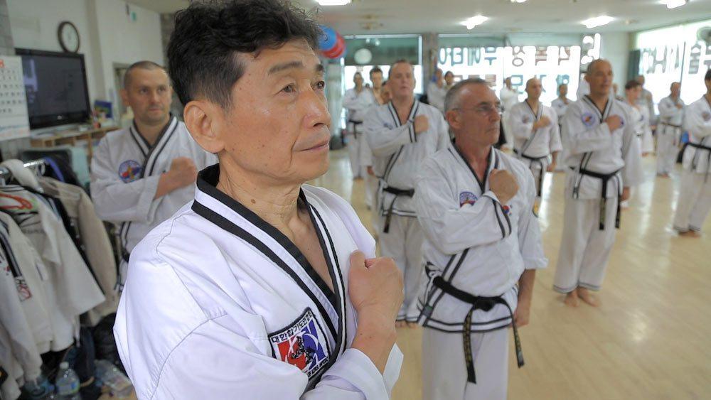 hapkido sonmudo soutien en terre martiale