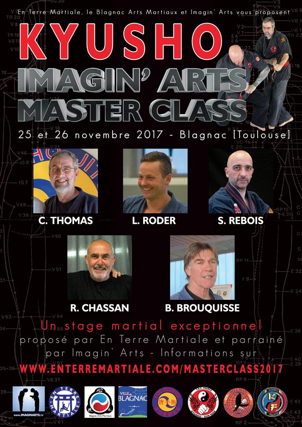 Imagin' Arts Masterclass Kyusho Points Vitaux 2017
